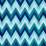 Marine color zigzag seamless pattern. Eps 10 vector file Stock Photos