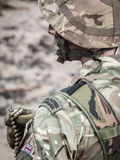 Marine Commando real británica Fotos de archivo libres de regalías