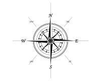 Marine compass Royalty Free Stock Photography