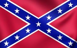 Marine confédérée Jack des Etats-Unis Photos libres de droits