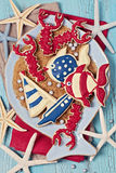 Marine cookies Stock Image