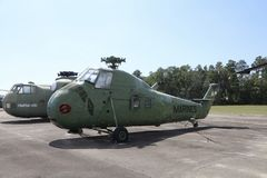 Marine Corps Helicopter Green Photographie stock