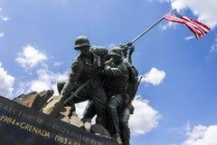 Marine Corps War Memorial arkivfoto