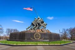 Marine Corps War Memorial fotografía de archivo