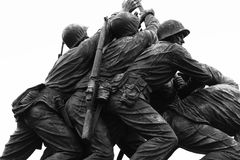 The Marine Corps War Memorial Royalty Free Stock Photography