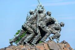 Marine Corps War Memorial Fotografia Stock