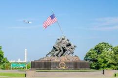 Marine Corps War Memorial Immagini Stock Libere da Diritti