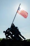 Marine Corps War Memorial Arkivbild