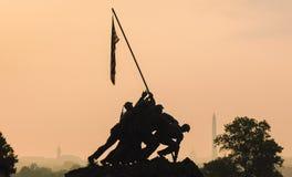Marine Corps War Memorial Fotografering för Bildbyråer