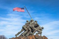 Marine Corps War Memorial Stock Afbeelding