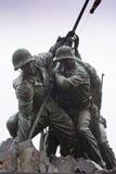 Marine Corps War Memorial stock image