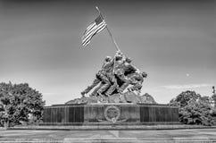 Marine Corps War Memorial. (Iwo Jima Memorial), Washington DC, USA stock images