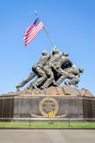 Marine Corps War Memorial. (Iwo Jima Memorial), Washington DC, USA royalty free stock photo