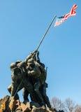 Marine Corps War Memorial Stock Photo