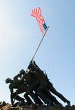 Marine Corps War Memorial Royalty Free Stock Images