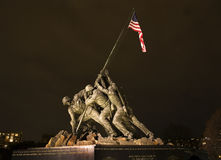 The Marine Corps War Memorial Washington DC Royalty Free Stock Photography