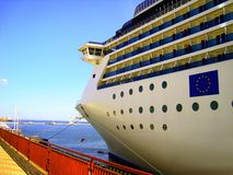 Marine cruise Royalty Free Stock Photo