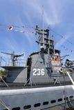 Marine d'Etats-Unis USS submersible Silvesides Images libres de droits