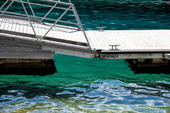 Marine dock abstract detail summer sea concept background stock photo