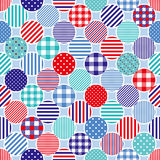 Marine dots background royalty free illustration