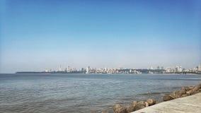 Marine Drive-Ansicht am Mittag stockfotos