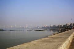 Marine Drive Mumbai Fotografering för Bildbyråer