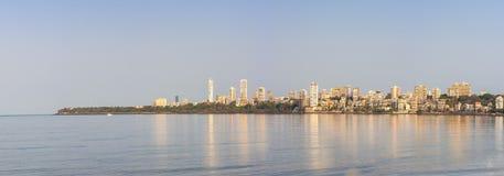 Marine Drive Mumbai Royaltyfria Bilder