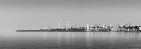 Marine Drive Mumbai Arkivbild