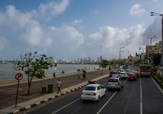 Marine Drive Royalty Free Stock Images