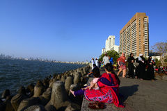 Marine Drive, Mumbai Royalty Free Stock Photo