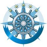 Marine emblem Stock Images