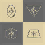 Marine emblem Royalty Free Stock Photos