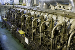 Marine engine royalty free stock photography