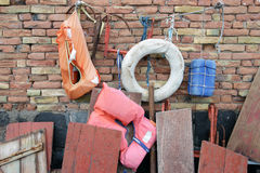 Marine equipment Royalty Free Stock Photography