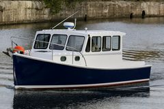 Marine ferry boat Stock Photography