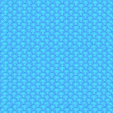 Marine fish scales simple seamless pattern in soft pastel colors.  Royalty Free Stock Images
