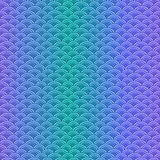Marine fish scales simple seamless pattern in soft pastel colors Stock Photography