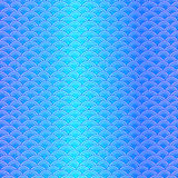 Marine fish scales simple seamless pattern in soft pastel colors Stock Photos