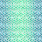 Marine fish scales simple seamless pattern in soft pastel colors Royalty Free Stock Images