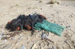 Marine fishing debris stock image