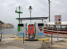 Marine Fuel Station stock photos