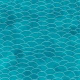 Marine grunge seamless pattern Stock Photo