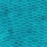 Marine grunge seamless pattern Stock Photo