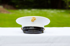 Marine Hat Royalty Free Stock Image