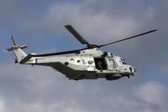 Marine helicopter royalty free stock image