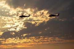 Marine Helicopters cerca de los MCAS de Mirimar Foto de archivo libre de regalías