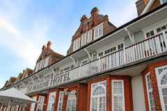 Marine hotel victorian architecture royalty free stock image