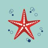 Marine Icon plate Image libre de droits
