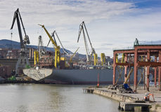 Marine industry Stock Image