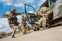 Marine Infantry Parachute Regiment Stock Photo